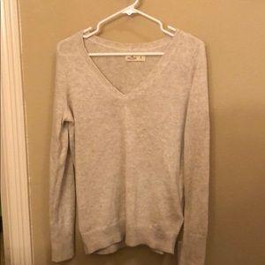 NWOT Oversized V-Neck Sweater Hollister
